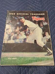 1968 Detroit Tigers Yearbook Kaline Cash Horton McClain Lolich Mathews