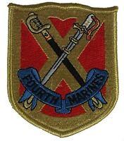 USMC 4TH FOURTH MARINE REGIMENT PATCH CAMP SCHWAB OKINAWA OLDEST PROUDEST