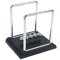 135*115*135mm Newtons Cradle Steel balance balls Physics Pendulum Desk Toy CRIT