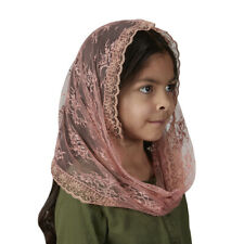 Child's Infinity Chapel Veil - Rose