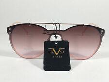 1d3007aaa8da Versace 19V69 Italia Elisa Round Sunglasses Rose Gold Metal Brown Gradient  Lens
