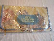 AVON VTG Ladies Accessories ORGANIZER Hanger Floral pastels  6