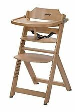 Safety 1st Timba Wooden Highchair, Adjustable , 6 months to 10 years, Natural