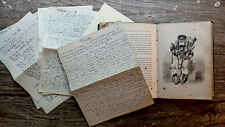 Circa 1880-1923 Handwritten Diary Italy Travel Notes China Japan Peking Foochow