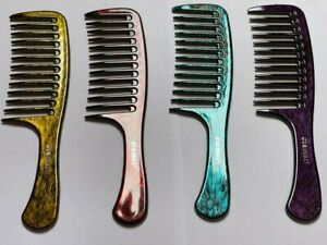 Tangle Free Shower Comb Detangling Wide Tooth Hair Comb for Applying Conditioner