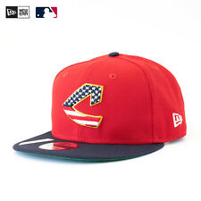 NEW ERA MLB 9Fifty Cap Cleveland Indians Snapback 4th Of July Collection Rar Top