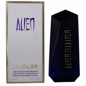 THIERRY MUGLER ALIEN BODY LOTION 200ML FOR HER - NEW & BOXED - FREE P&P - UK
