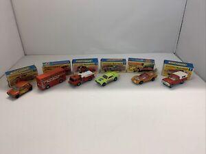Vintage Job Lot collection Of Matchbox Superfast Boxed Models