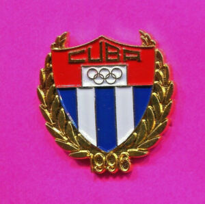1996 OLYMPIC NOC PIN CUBA NATIONAL OLYMPIC COMMITTEE PIN