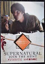Supernatural Seasons 1-3 M01 Sam Winchester Wardrobe Relic Prop Trading Card CW