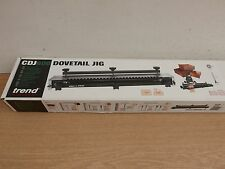 TREND CRAFT ROUTER DOVETAIL JIG CDJ600 + 32MM TEMPLATE CDJ600/04