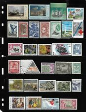 World, Collection lot of 200 MNH all different worldwide stamps see 9 scans #15