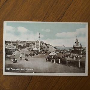 Postcard Pier Approach Bournemouth Dorset Postcard