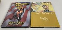 Ms. Marvel Hardcover Graphic Novel: Civil War Vol 2 & Best Of The Best Vol 1 TPB