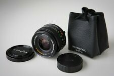 Tested Minolta MD W.Rokkor-X 28mm f/2.8 Wide Angle Lens w/ Pouch