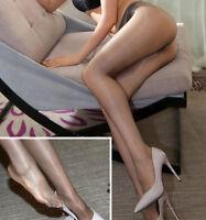 Ladies 1 Denier High Gloss Shiny Pantyhose Glossy Tights Nylon Stockings Hosiery