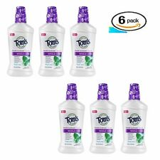 Tom's Of Maine, Mouthwash Fresh Mint Whole Care, 16 Oz EXP 04/20 (3 Pack)