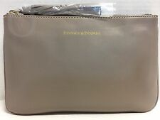 NWT*Dooney & Bourke*TAUPE*Lambs Skin*Carrington Pouch* 17044K