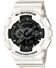 NEW Casio G-Shock GA110GW-7A White and Silver Wristwatch