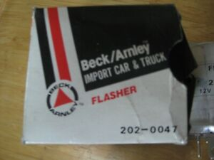 Beck Arnley 202-0047 flasher fits some Austin Datsun Honda Jaguar MG Rover other