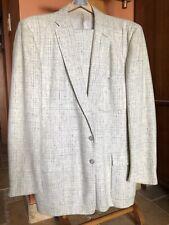 New listing 1950's Rare Men's White Fleck Suit Size 42 Elvis