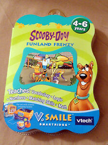 Vtech Smartridge Cartridge V.Smile Learning System Scooby-Doo Funland Frenzy NEW