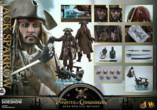 Jack Sparrow 1/6 Scale Figure by Hot Toys  Pirates of the Caribbean: Dead Men