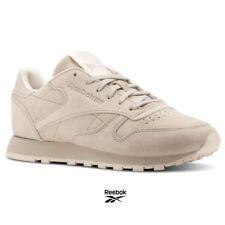 Reebok Classic Leather Tonal NBK Shoes Sneakers BS9883 Beige SZ 4-12.5