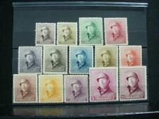NobleSpirit (Th1) Beautiful Belgium Nos 124-137 Nh Vf Set = $1,150 Cv