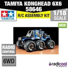 New! 58646 TAMIYA KONGHEAD 6X6 G6-01 1/18th SCALE R/C RADIO CONTROL KIT