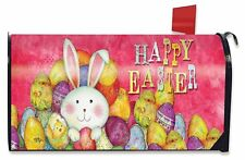 Happy Easter Magnetic Mailbox Cover Bunny Chick Holiday Briarwood Lane Standard