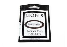 HAIRNETS x 10, Lion 9, All 7 Colours, Five Double Packs, Larger Than Bun Nets.