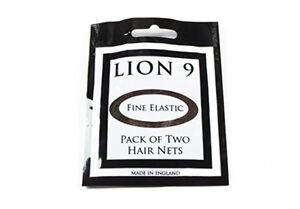 HAIRNETS x 2, Lion 9, All 7 Colours, A Double Pack, Larger Than Bun Nets.