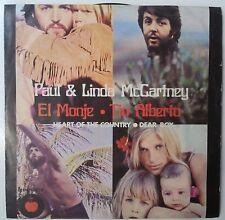 "Paul McCartney & Linda McCartney El Monje Single 7"" Mexico 1971"