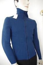 Herren Strickjacke NOS Gr. 52 True VINTAGE 80er blau 80s Qualitätsfaser cardigan