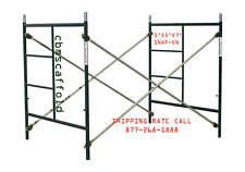 CBM SCAFFOLD One of Snap-On 5' X 5' X 7' Masonry Scaffolding Box Frame Set