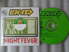 CD-EX IT-NIGHT FEVER-GIBB-DJ CAPTAIN-BEACH BOYZ-HOTTER-(CD SINGLE)1996-2TRACK
