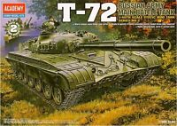 1/48 RUSSIAN ARMY MAIN BATTLE TANK T-72 / ACADEMY MODEL KIT / #13006
