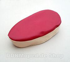 Sitzbezug rot-sandfarben, glatt für Simson Spatz SR4-1 *NEU*