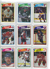 Lot of 20 Different 1988-89 OPC O-Pee-Chee Cards *U-Pick* Complete Your Set Mint