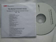 The Michael Schenker Group ‎The Best Of '80-'84 Promo 16 track CD Album