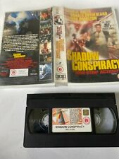 Shadow Conspiracy Charlie Sheen Donald Sutherland BIG CASE VHS VIDEO  Ex Rental