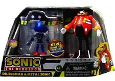 """Sonic The Hedgehog  4"""" Dr Eggman & Metal Sonic Factory Sealed New"""