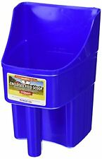 Little Giant 3-Quart Enclosed Feed Scoop, Blue