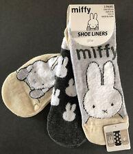 3 Paar Miffy Hase Damen Sneaker Socken Bunny Lustig Funny Füßlinge 37-42 Primark