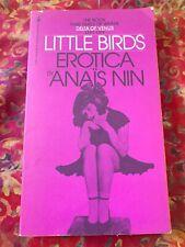 LITTLE BIRDS Erotica ANAÏS NIN Pocket Paperbeck