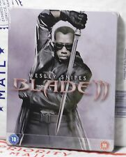 NEW BLADE 2 ON BLU-RAY STEELBOOK! UK ZAVVI EXCLUSIVE+REGION B! FACTORY SEALED