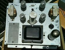 Vintage Voice Of Music 20004 Tube Amplifier & Preamp Project Quad 6v6 Amp