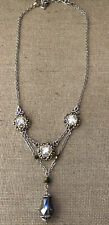 """Brighton Moonstruck Crystal Necklace 16-18"""""""