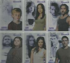 """Lost Seasons 1-5 - """"Oceanic 6"""" 6 Card Chase Set #S1-6"""